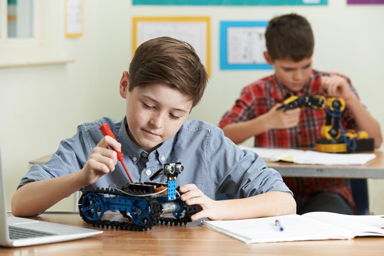 Организация занятий по робототехнике